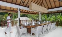 Dining Area with View - Villa Atacaya - Seseh, Bali