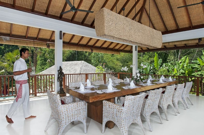 Dining Area with View - Villa Atacaya - Seseh, Bali