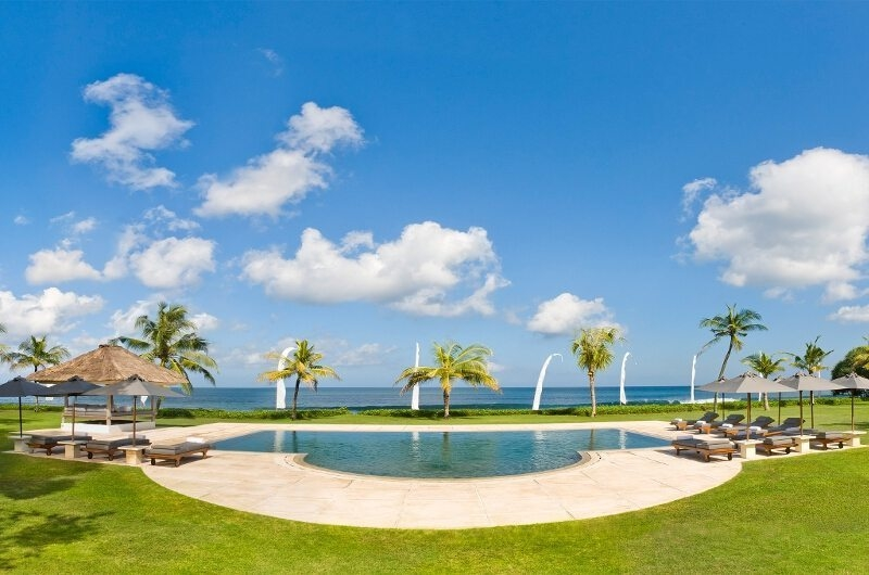 Pool with Sea View - Villa Atas Ombak - Batubelig, Bali