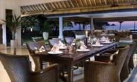 Dining Area - Villa Atas Ombak - Batubelig, Bali