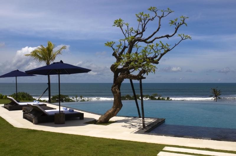 Pool Side Loungers - Villa Babar - Tabanan, Bali