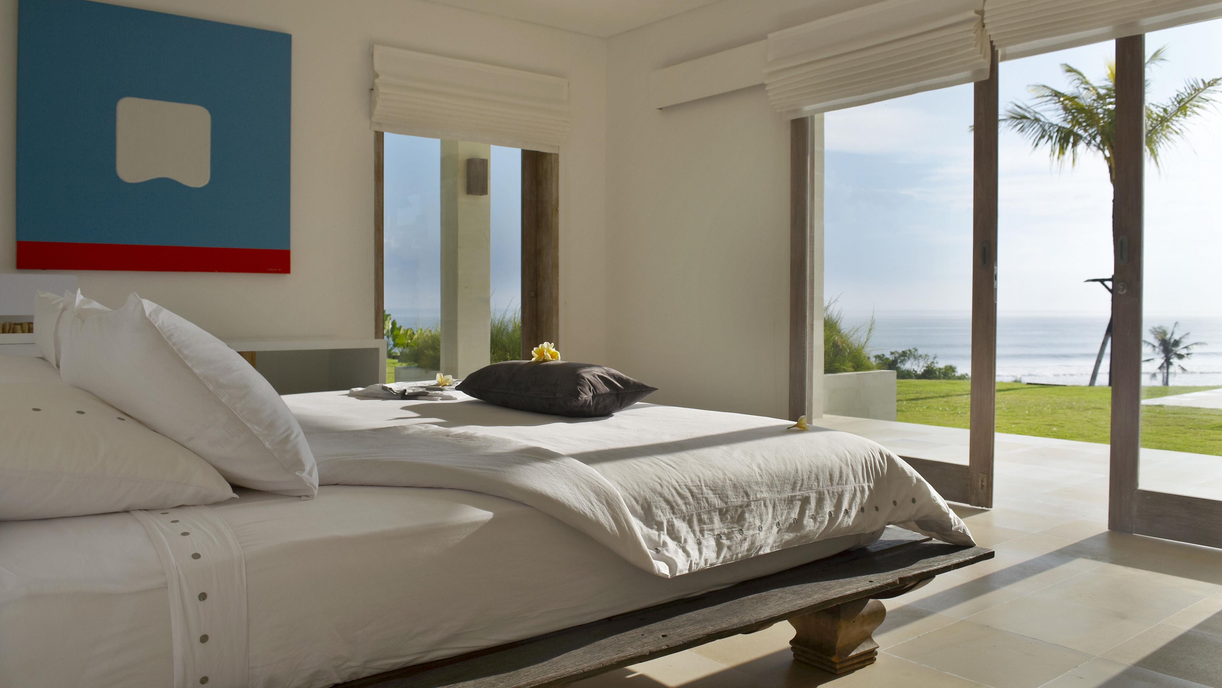 Bedroom with Sea View - Villa Babar - Tabanan, Bali