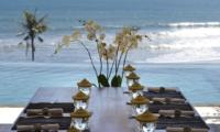 Pool Side Dining - Villa Babar - Tabanan, Bali