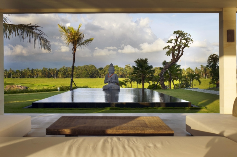 Living Area with Pool View - Villa Babar - Tabanan, Bali