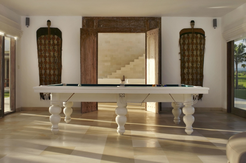 Billiard Table - Villa Babar - Tabanan, Bali