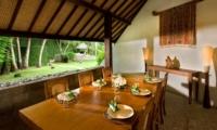 Dining Area with View - Villa Bali Bali - Umalas, Bali