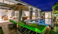Sun Loungers - Villa Bamboo Aramanis - Seminyak, Bali