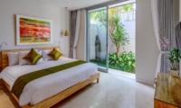 Bedroom with View - Villa Bamboo Aramanis - Seminyak, Bali