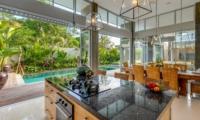 Kitchen and Dining Area - Villa Bamboo Aramanis - Seminyak, Bali