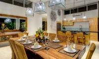 Dining Area - Villa Bamboo Aramanis - Seminyak, Bali