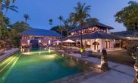 Gardens and Pool - Villa Batujimbar - Sanur, Bali