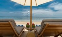 Sun Beds at Beach - Villa Batujimbar - Sanur, Bali