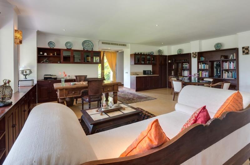 Living and Dining Area - Villa Batujimbar - Sanur, Bali