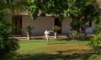 Outdoor Area with Staff - Villa Batujimbar - Sanur, Bali