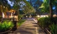 Pathway at Night - Villa Batujimbar - Sanur, Bali