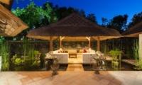 Open Air Lounge Area - Villa Batujimbar - Sanur, Bali
