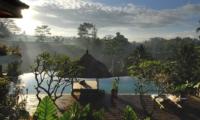 Swimming Pool with View - Villa Bayad - Ubud, Bali