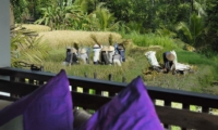 Outdoor Rice Fields - Villa Bayad - Ubud, Bali