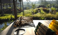 Outdoor Area with View - Villa Bayad - Ubud, Bali