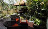 Outdoor Seating Area - Villa Bayad - Ubud, Bali