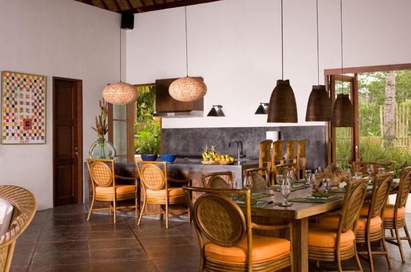 Kitchen and Dining Area - Villa Bayad - Ubud, Bali