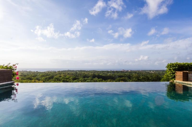 Pool with Sea View - Villa Bayu - Uluwatu, Bali