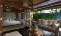 Bedroom and Balcony - Villa Bayu - Uluwatu, Bali