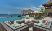 Pool Side Seating Area - Villa Bayu Gita - Sanur, Bali