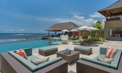 Pool Side Seating Area - Villa Bayu Gita - Sanur, Bali