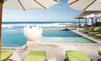 Pool Side Loungers - Villa Bayu Gita - Sanur, Bali