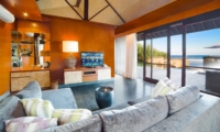 Living Area with TV - Villa Bayu Gita - Sanur, Bali