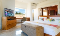 Bedroom with Study Table and TV - Villa Bayu Gita - Sanur, Bali