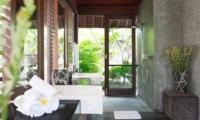 Bathroom with Shower - Villa Bayu Gita - Sanur, Bali