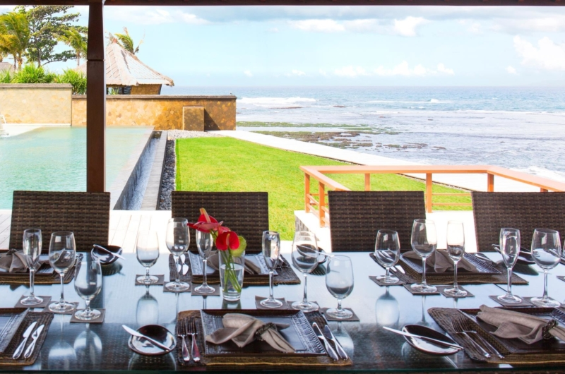 Dining Table with Sea View - Villa Bayu Gita - Sanur, Bali