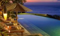 Pool at Night - Villa Bayuh Sabbha - Uluwatu, Bali