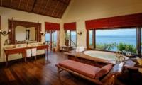 En-Suite His and Hers Bathroom - Villa Bayuh Sabbha - Uluwatu, Bali