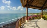 Outdoor Area with Sea View - Villa Bayuh Sabbha - Uluwatu, Bali