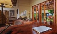 Study Room - Villa Bayuh Sabbha - Uluwatu, Bali