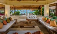 Living Area with Sea View - Villa Bayuh Sabbha - Uluwatu, Bali