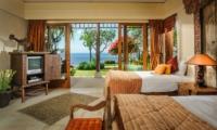 Bedroom with Sea View - Villa Bayuh Sabbha - Uluwatu, Bali