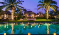 Pool at Night - Villa Beji - Canggu, Bali