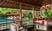 Pool Side Lounge Area - Villa Beji - Canggu, Bali