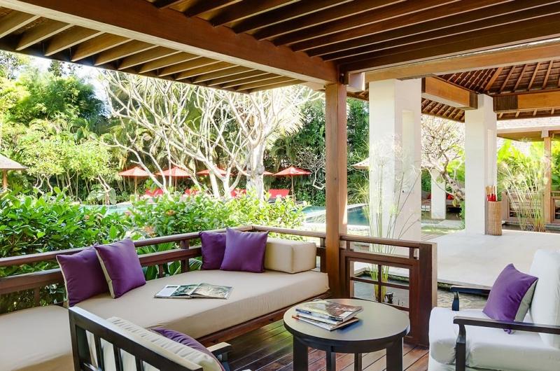 Open Plan Lounge Area - Villa Beji - Canggu, Bali