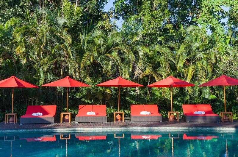 Pool Side - Villa Beji - Canggu, Bali