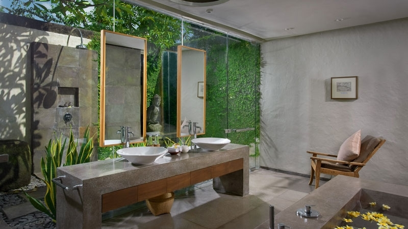 His and Hers Bathroom - Villa Belong Dua - Seseh, Bali