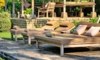 Reclining Sun Loungers - Villa Belong Dua - Seseh, Bali