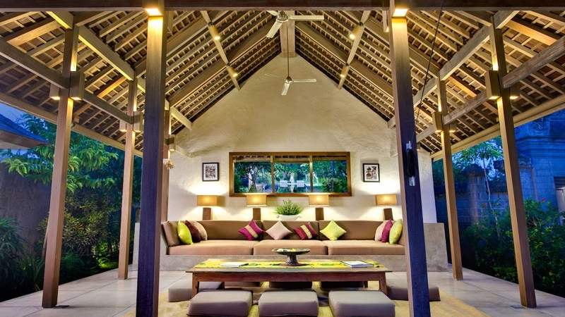 Living and Dining Area - Villa Belong Dua - Seseh, Bali