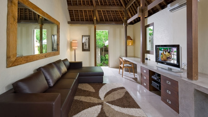 Lounge Area with TV - Villa Belong Dua - Seseh, Bali