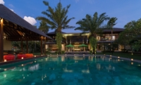 Pool at Night - Villa Bendega Nui - Canggu, Bali
