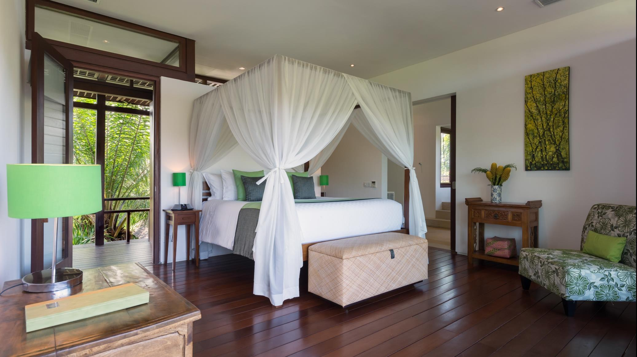Bedroom with Seating Area - Villa Bendega Nui - Canggu, Bali